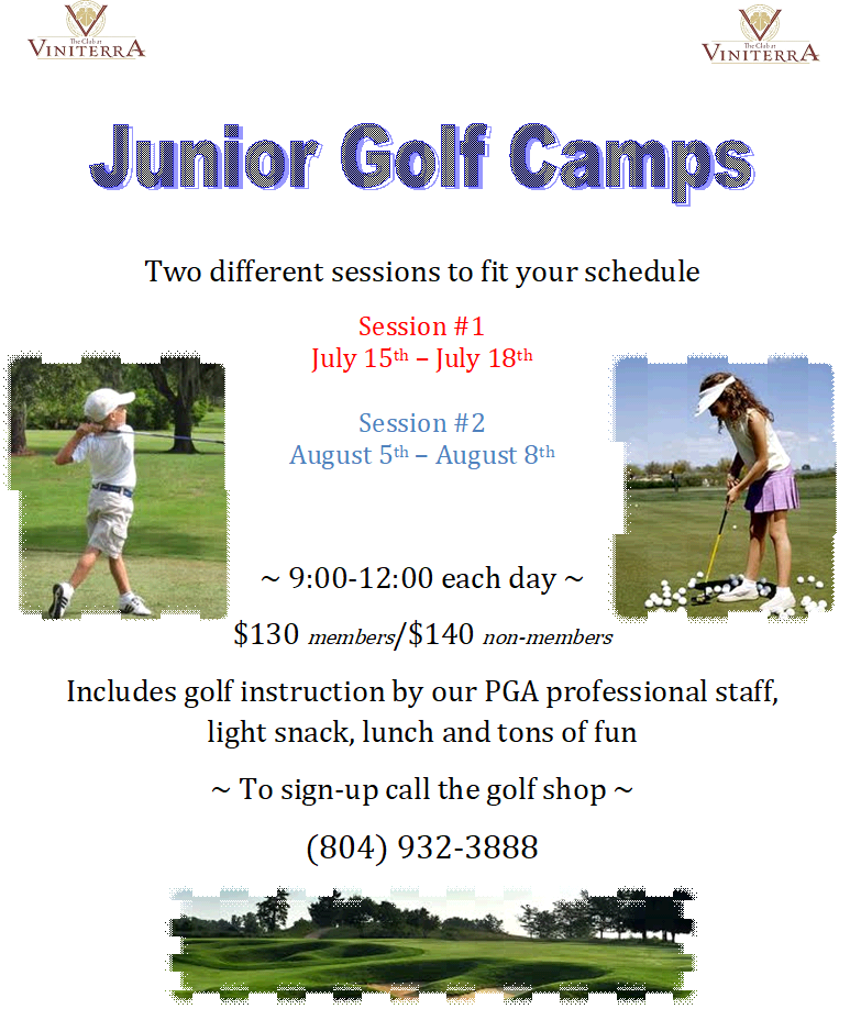 jr golf flyer