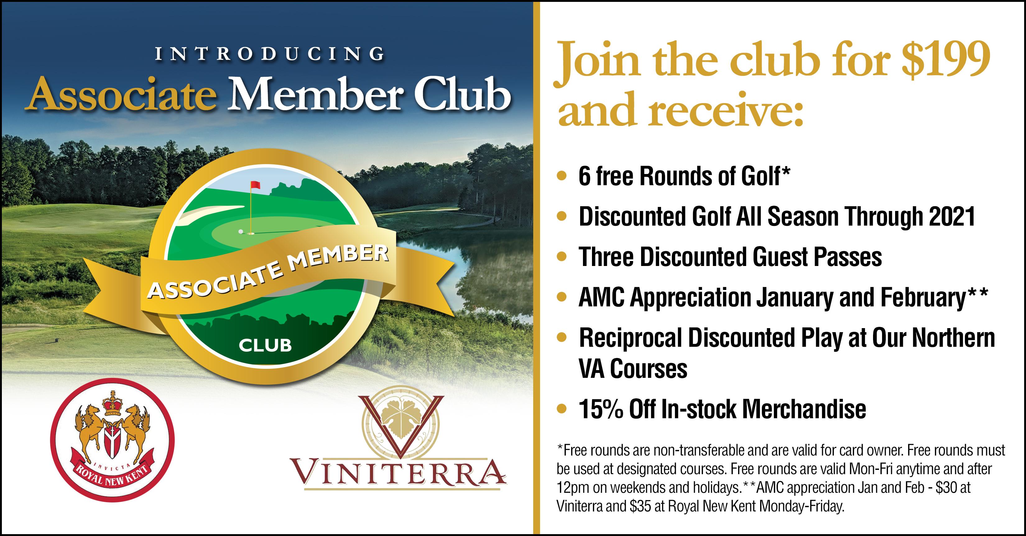 associate member club brochure